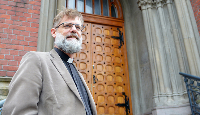 I början av oktober väntar Johan Westerlund på att få se en fullsatt kyrka – äntligen!