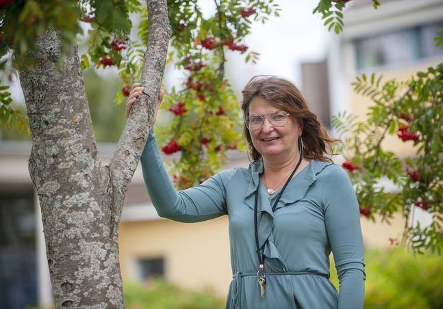 Kerstin Storvall är Nykarlebybo sedan 1994, men växte upp i Kronoby. – Jag var väldigt aktiv i församlingen där. Kyrkans Ungdom var mitt andliga hem.