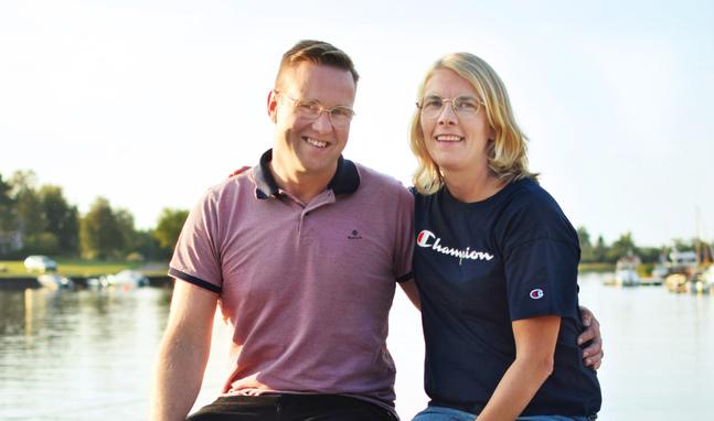 Tua och Frank Mäenpää säger att deras relation idag bygger på att de aktivt arbetade med att förlåta och bygga  ny tillit.