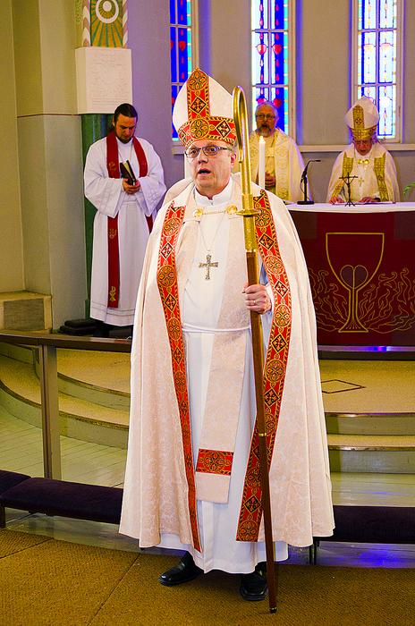 Missionsstiftet har nu en egen biskop i prosten Risto Soramies. FOTO: TOMAS GARAISI