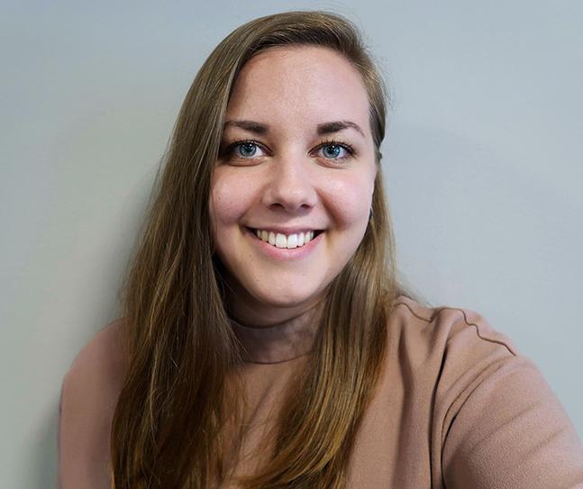 Louise Häggström jobbar som informatör i Johannes församling. Hennes favoritplats i stan är någonstans vid havet.