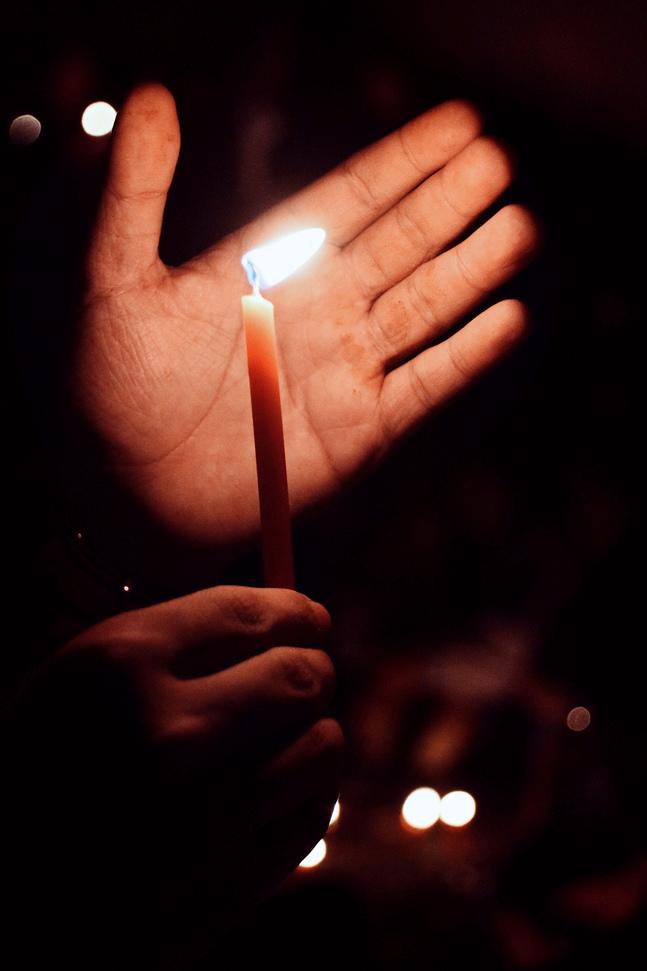 Du kan dela ljusbilder under hashtaggen #delaljus.