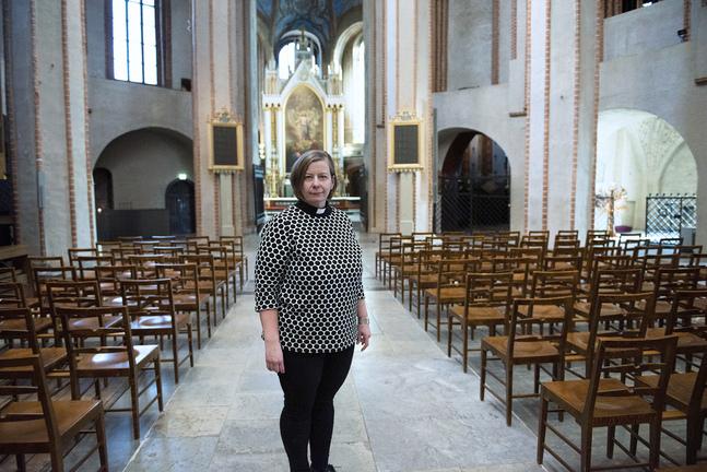 I oktober kulminerar Åbo svenska församlings 100-årsfirande i en festgudstjänst i domkyrkan, berättar kyrkoherde Mia Bäck.