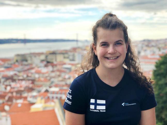 Sonja Fredriksson studerar journalistik och är aktiv i Matteus församling.