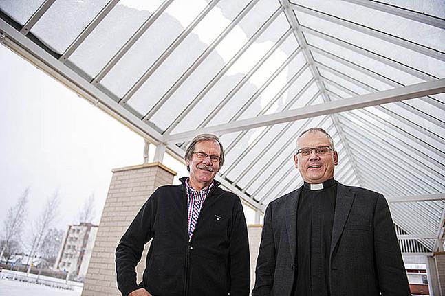 Rainer Karvonen och Bo-Göran Åstrand
