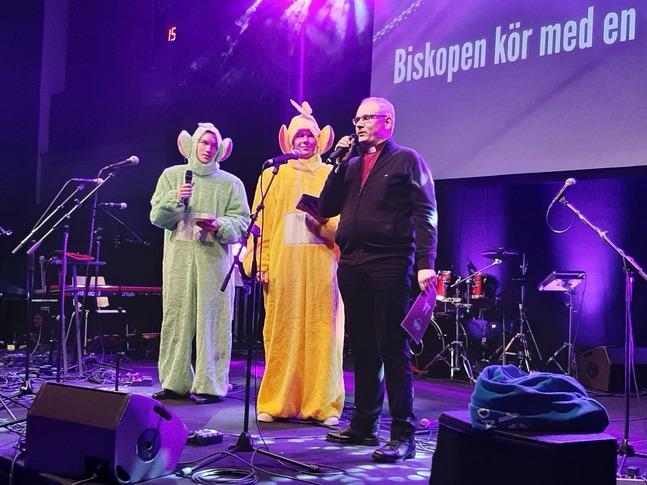 Bo-Göran Åstrand berättade om ett tungt år i högstadiet i Sursik i Pedersöre.