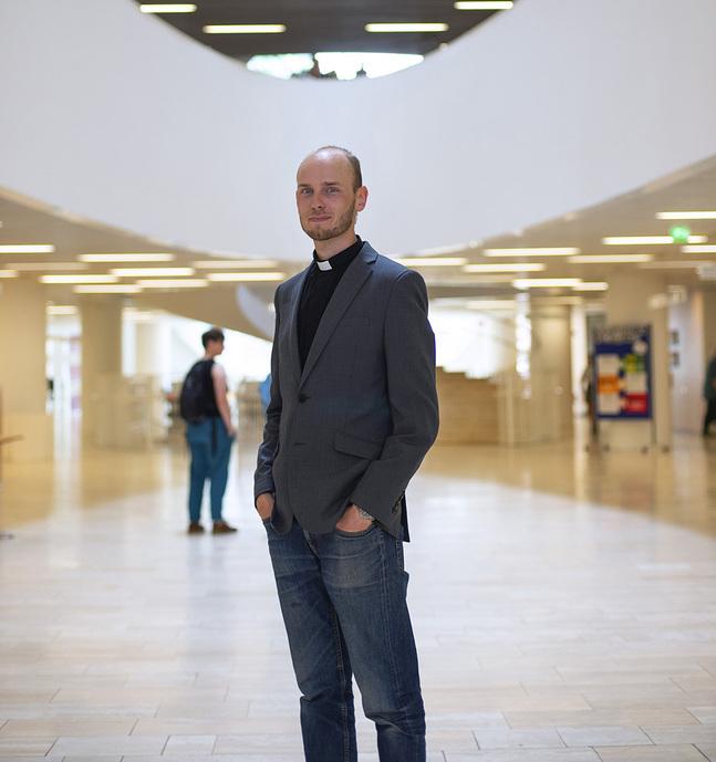 Andreas Andersson vill hjälpa människor att se det hoppfulla.
