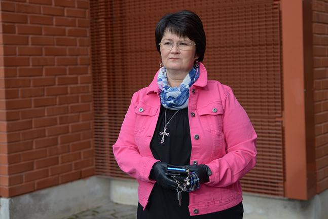 Ann-Christine Wiik är ledande diakoniarbetare i Esbo svenska församling.
