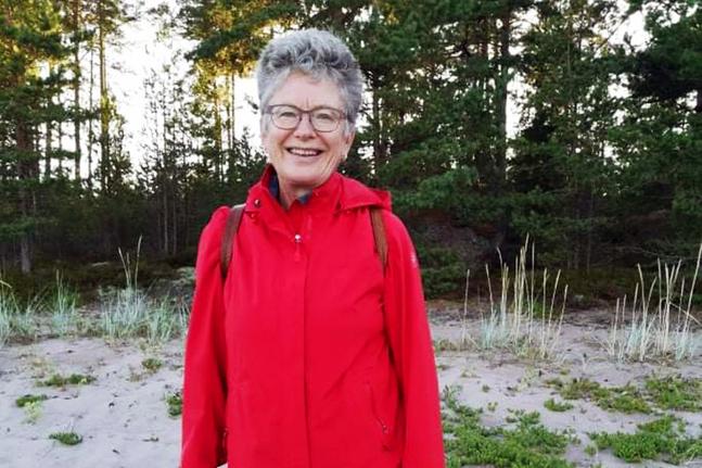 Irina Lemberg är diakoniarbetare i Borgå svenska domkyrkoförsamling.