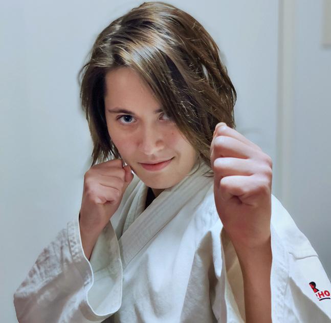 Mona Nurmi har tränat jujutsu i åtta år.