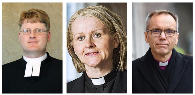 Janne Heikkilä, Ann-Mari Audas-Willman och Björn Vikström.
