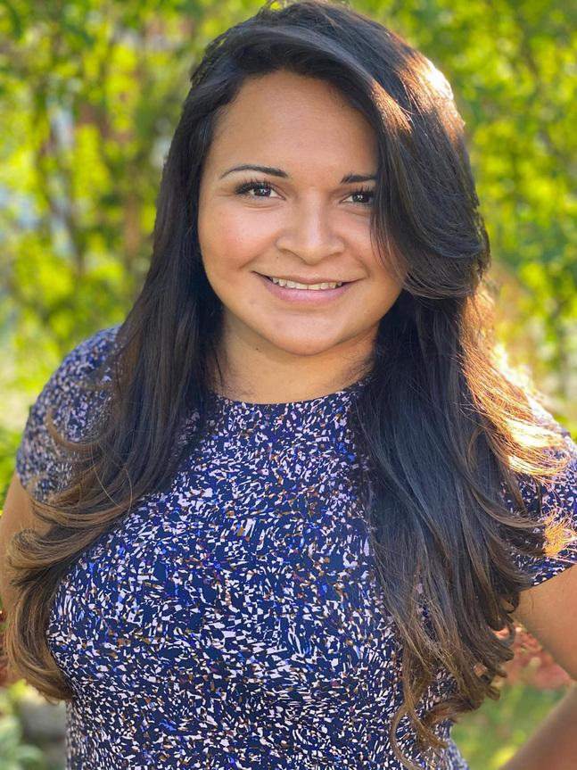 För Brenda Serralde Luna är bönen ett sätt att bearbeta livet.