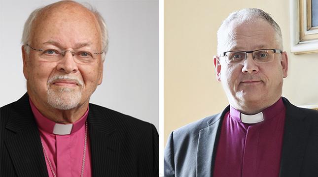 Johan Candelin bor i Karleby men är nyutnämnd biskop i Myanmar. Biskop Bo-Göran Åstrand ser odramatiskt på arrangemanget.