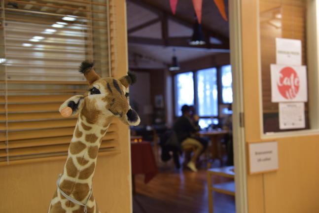 Toivo hälsar välkommen till Café 160 …