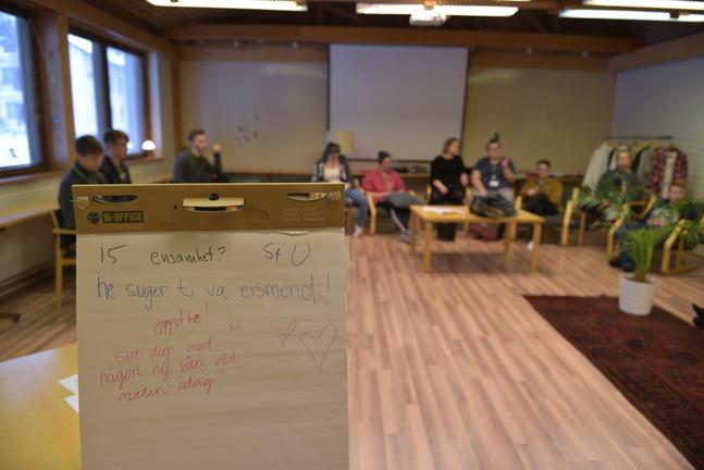 Utskottet funderar på vad församlingen kan göra för de som känner sig ensamma.