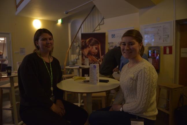Petra Gripenberg och Hanna Wiklund är både tredje gången på UK.