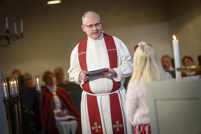Sedan Bo-Göran Åstrand installerades som biskop i Borgå stift i september har han hunnit resa runt i olika delar av stiftet. Söndagen den 26 januari kommer han att besöka Matteus församling.