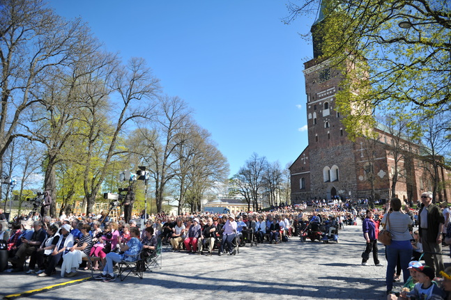 Åbo domkyrka är huvudkyrka för Åbo svenska församling.