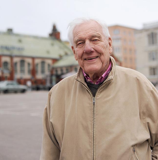 Dage Härus funderar ännu på att fortsätta där han börjat och skriva den kompletta biografin om sitt liv.