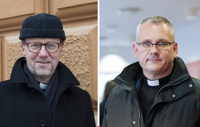Det blir antingen Sixten Ekstrand eller Bo-Göran Åstrand som blir nästa biskop i Borgå stift.