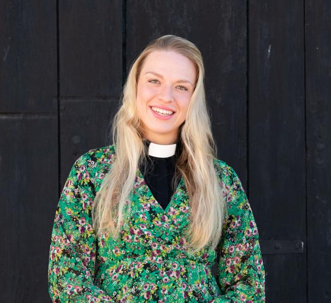 Elefteria Apostolidou är församlingspastor i Borgå svenska domkyrkoförsamling.