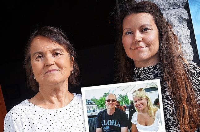 Britt-Marie har stort stöd av sin dotter Anna som bor i Jakobstad med sin familj.