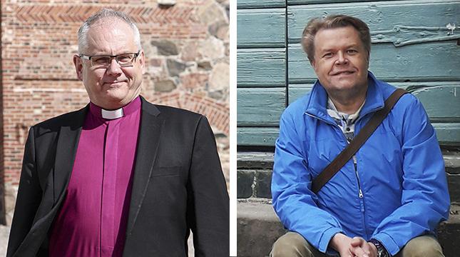 Bisop Bo-Göran Åstrand och församlingsrådets viceordförande Magnus Sundman säger att samtalet i måndags behövdes och var konstruktivt.