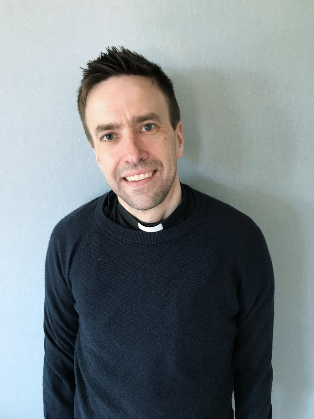 Fredrik Kass är tf kyrkoherde i Kvevlax församling.