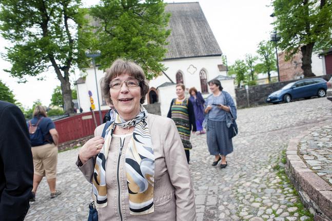 Gun- Maj Näse är också medlem i stiftsfullmäktige i Borgå stift.