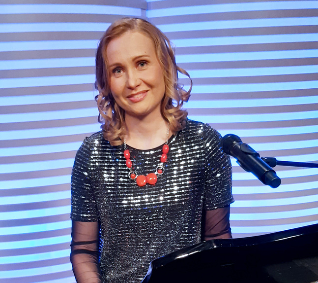 Hanna Lehtonen hoppas på nya förutsättningar för sång och gemenskap nästa år.