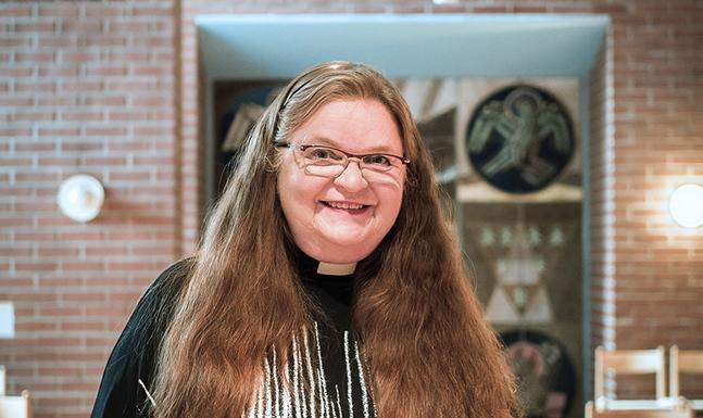 Helene Liljeström är tf kyrkoherde i Matteus  församling.
