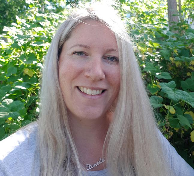Daniela Hildén jobbar som familjearbetare.