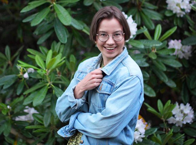 Pauliina Kittilä är en kreativ själ och jobbar som informatör i Petrus församling.