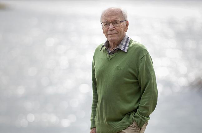 John Vikström hoppas att hans inre människa utvecklats under åren. – Men inte vet jag hur mycket klokare jag blivit! tillägger han.