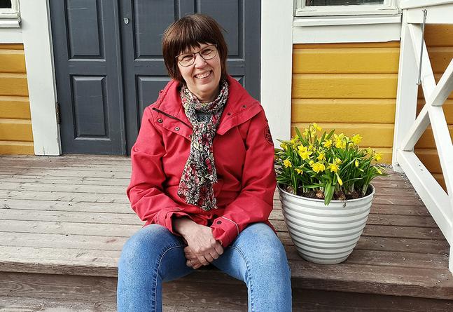 Ebba-Stina Beukelman hoppas på att ge över stafettpinnen till någon som vill ta vara på de möjligheter som finns i församlingen.