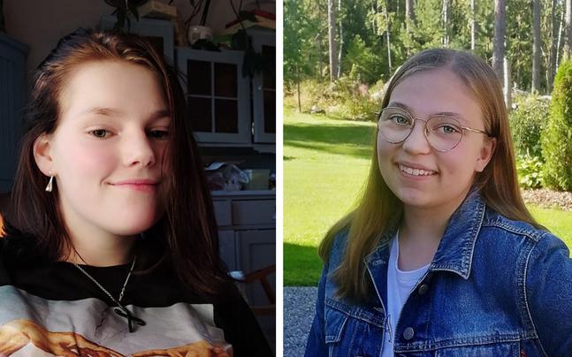 Wilma och Isabelle Lithén trivdes i församlingen när de var konfirmander och vill ge det vidare till andra.