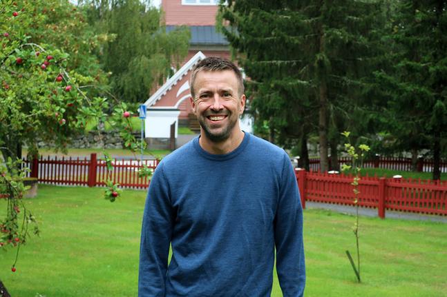 Fredrik Kass är glad över att så många församlingsmedlemmar i Solf är aktiva och ansvars- tagande.
