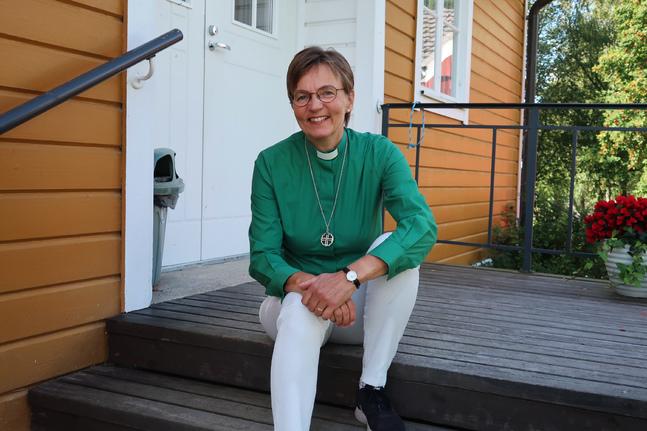 Kristina Örn tycker att mycket inom diakonin påminner om läraryrket.