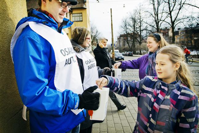 I söndags startade insamlingen Gemensamt Ansvar.