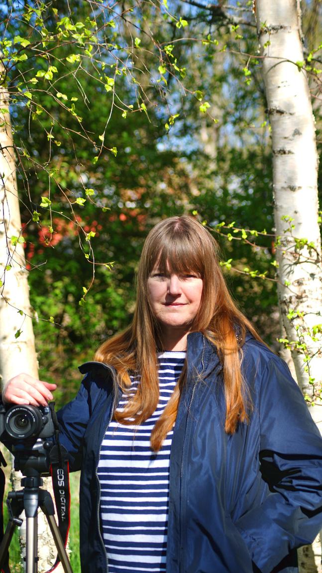 Lilian Westerlund har stått bakom kameran vid andakter och barnprogram.