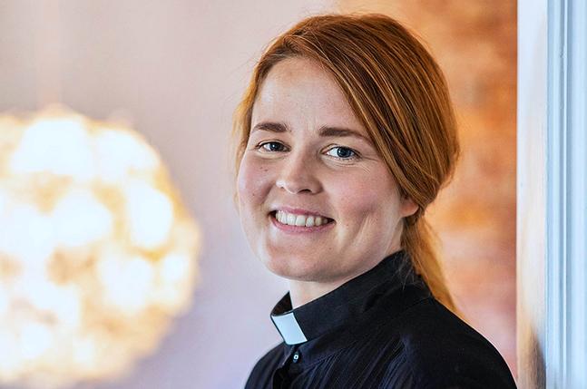 Mari Leppänen är glad, tacksam och förundrad över resultatet i biskopsvalet.