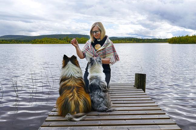 Mari Valjakka har återvänt till hemtrakterna i Ivalo.