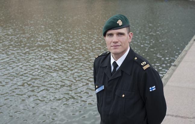 Markus Weckström är militärpastor vid Nylands brigad.