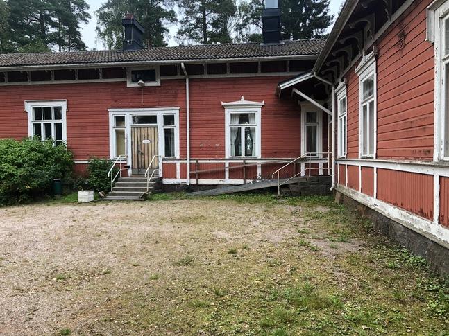 Två av byggnaderna på Mataskär är skyddade.