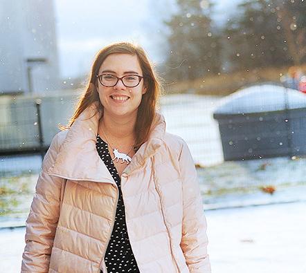 Nina Österholm är informatör för de svenska församlingarna i Helsingfors.
