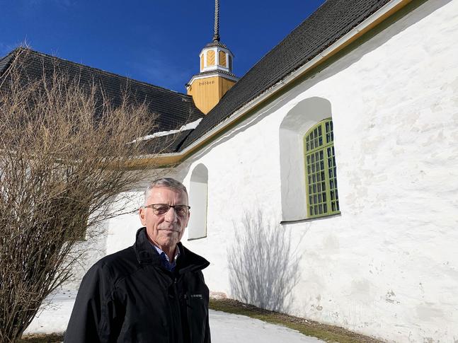 - Framtidstron för ett samhälle framåt, säger Olav Sjögård.