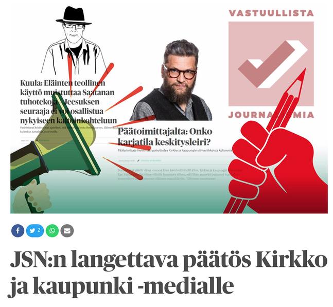 Kirkko & Kaupunki rapporterar utförligt om domen och diskussionen kring den på sin webbsida.