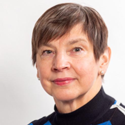 Solveig Halonen är förvaltningssekreterare i Vanda svenska församling.