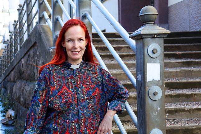 Sonja Jakobsson känner redan att hon är på rätt plats som studentpräst.