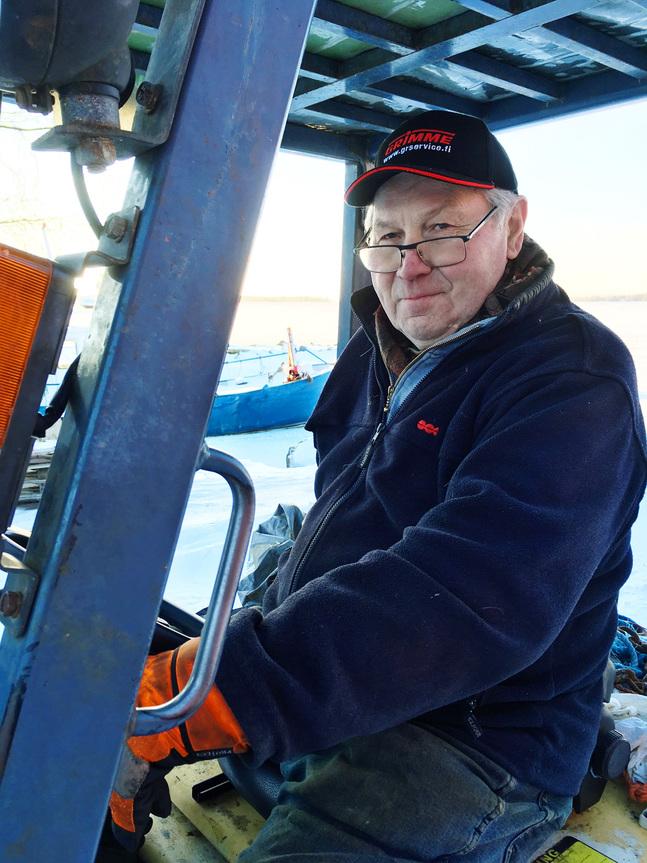 Även om det kan bli långa dagar trivs Stig Granskog med livet som företagare.